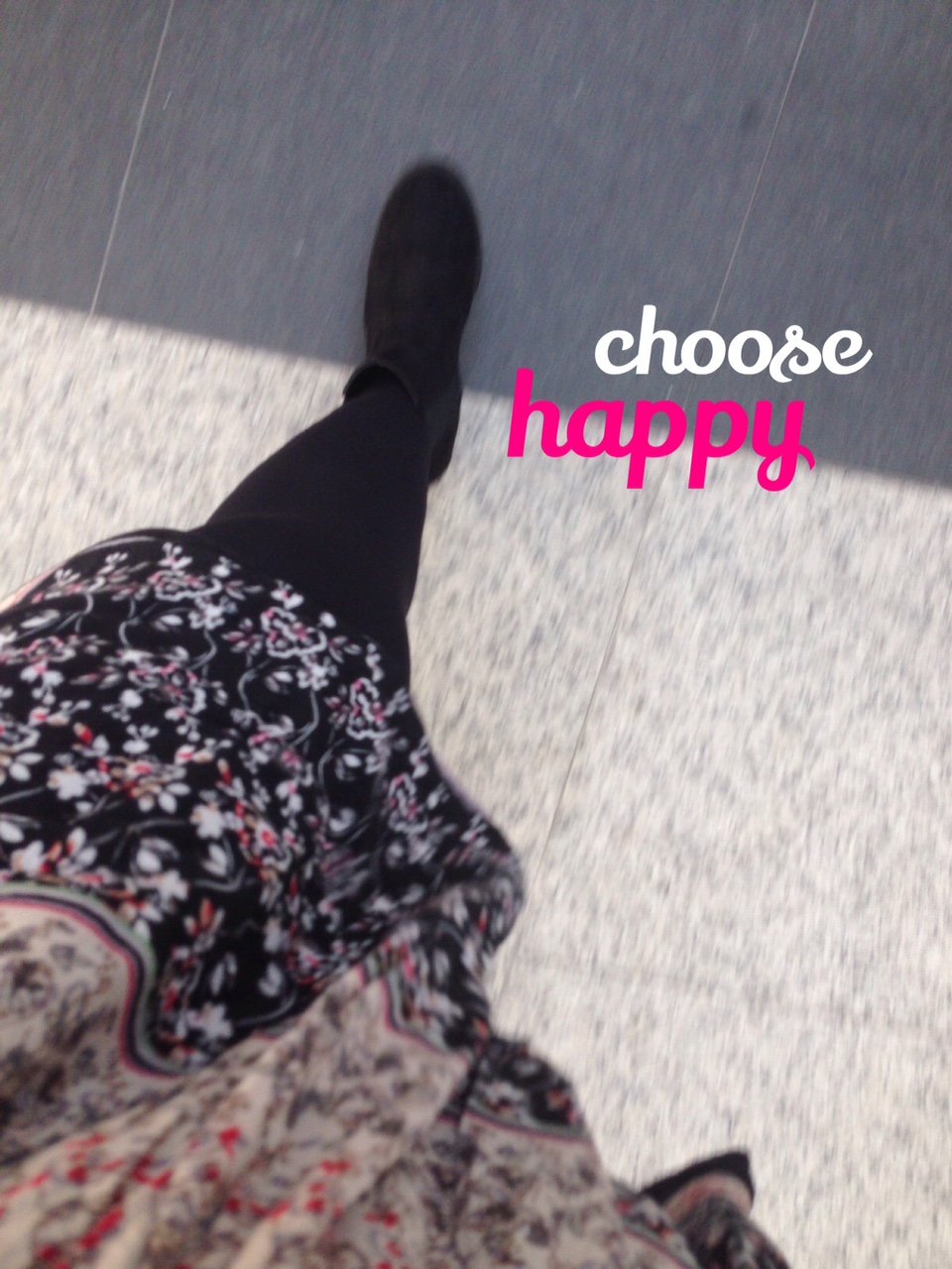 Yes, choose your own happiness!